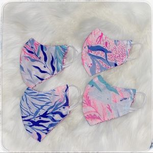 Lilly Pulitzer kids face mask